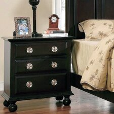 Marlon 3 Drawer Nightstand