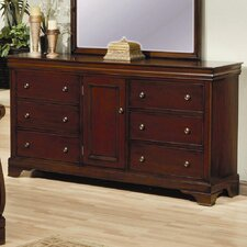 <strong>Wildon Home ®</strong> Kearny 6 Drawer Combo Dresser