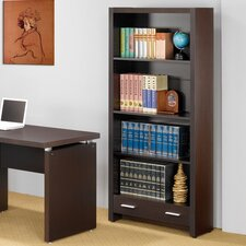 Bicknell Home Office Bookcase in Dark Cappuccino
