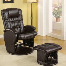 <strong>Wildon Home ®</strong> Rimini Recliner and Ottoman