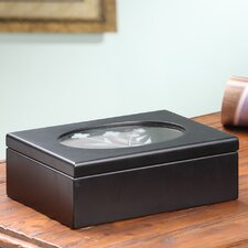 Jade Mini Jewelry Box in Black