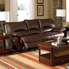 Red Bluff Dual Leather Reclining Sofa