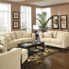 <strong>Wildon Home ®</strong> Cumberland Grove Velvet Living Room Set