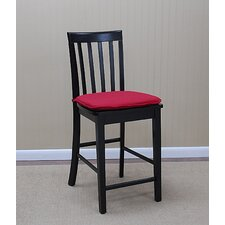"Lakeside 24"" Side Chair in Rich Black"