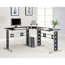 <strong>Wildon Home ®</strong> Hartland L-Shape Computer Desk