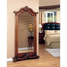 <strong>Wildon Home ®</strong> Rock Island Floor Mirror in Warm Brown