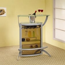 <strong>Wildon Home ®</strong> Knox Bar Unit in Silver