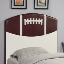 <strong>Wildon Home ®</strong> Bowdoin Football Twin Upholstered Headboard