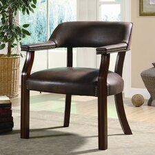 <strong>Wildon Home ®</strong> Leather Arm Chair