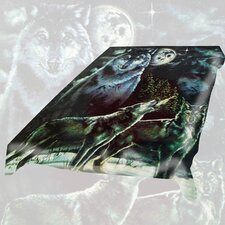 <strong>Wildon Home ®</strong> Acrylic Mink Duke Wolf Blanket