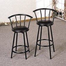 "24"" Bar Stool in Black"