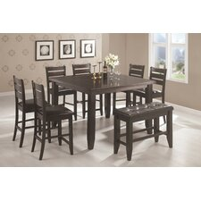 <strong>Wildon Home ®</strong> Corrigan 8 Piece Counter Height Dining Set