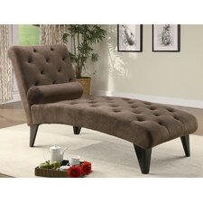 Brown Indoor Chaise Lounges | Wayfair