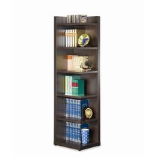 "Rogers 15"" Bookcase in Cappuccino"