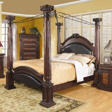 <strong>Wildon Home ®</strong> Whitewright Canopy Bed