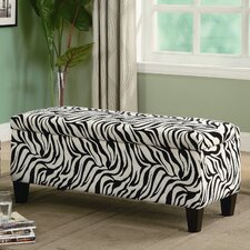 Oak Valley Upholstered Storage Bench