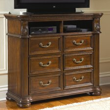 <strong>Wildon Home ®</strong> Bayside 6 Drawer Media Chest