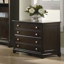 <strong>Wildon Home ®</strong> Evant File Cabinet in Cappuccino