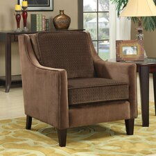 <strong>Wildon Home ®</strong> Contrasting Velvet Chair