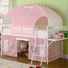 Muldoon Twin Loft Bed with Tent