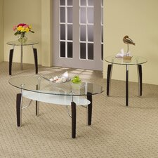 <strong>Wildon Home ®</strong> Rasta 3 Piece Coffee Table Set