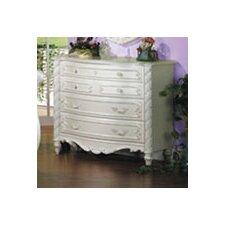 Pearl Single 4-Drawer Dresser