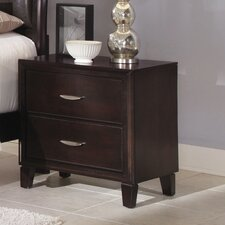 <strong>Wildon Home ®</strong> Clinton 2 Drawer Nightstand