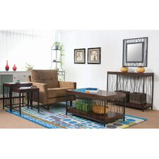 <strong>Wildon Home ®</strong> Wire Design Coffee Table Set