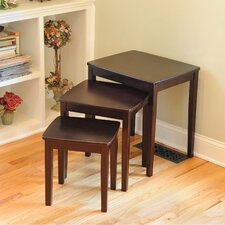<strong>Wildon Home ®</strong> Bay Shore 3 Piece Nesting Tables
