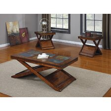 <strong>Wildon Home ®</strong> Benicia 3 Piece Coffee Table Set