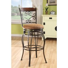 Tavio Diamond Back Swivel Barstool