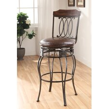 Tavio Swirl Back Swivel Barstool