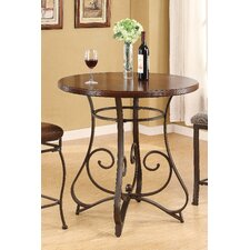 <strong>Wildon Home ®</strong> Tavio Scroll Leg Bar Table