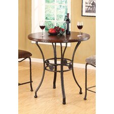 <strong>Wildon Home ®</strong> Tavio Curved Leg Bar Table