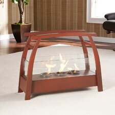<strong>Wildon Home ®</strong> Drexel Free-Standing Gel Fuel Fireplace