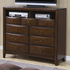 <strong>Wildon Home ®</strong> Hillary 9 Drawer TV Dresser