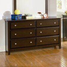 <strong>Wildon Home ®</strong> Harrington 6 Drawer Dresser