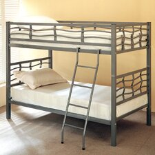 <strong>Wildon Home ®</strong> Echo Twin over Twin Bunk Bed