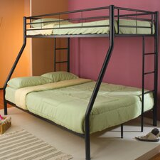 Elgin Twin over Full Bunk Bed with Built-In Ladder