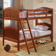 <strong>Wildon Home ®</strong> Nigelle Twin over Twin Bunk Bed