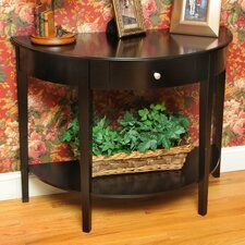 <strong>Wildon Home ®</strong> Bay Shore Large Half Moon Console Table