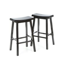 "<strong>Wildon Home ®</strong> Aloha 29"" Stool in Black"