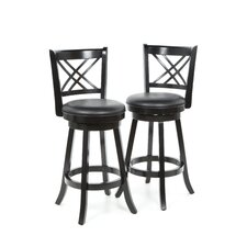 "Jackman 29"" Barstool in Black"