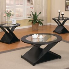 Amalga 3 Piece Coffee Table Set