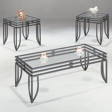 <strong>Wildon Home ®</strong> Lake Oswego 3 Piece Coffee Table Set