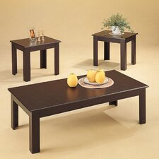<strong>Wildon Home ®</strong> Ironside 3 Piece Coffee Table Set