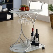 Whisper Serving Cart