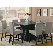 <strong>Wildon Home ®</strong> Brownville 9 Piece Counter Height Dining Set