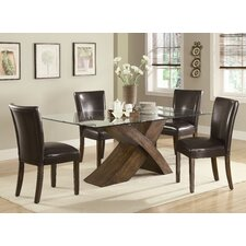 Combes 5 Piece Dining Set