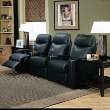 <strong>Wildon Home ®</strong> Prestige Home Theater Seating (Row of 3)